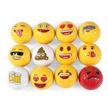 Gift Golf Ball Emoji Golf Ball Custom Pattern