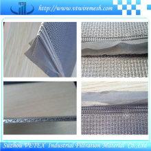 Maille filtrante en treillis métallique fritté