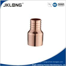 Connecteur réducteur de raccord de tuyau en cuivre