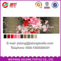 Disperse print 3d bed sheet 230*470cm for India