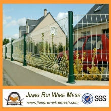 plastic small wire mesh garden fence designs(China manufacturer)