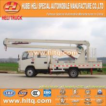 DONGFENG 4x2 HLQ5050GJKE aerial lift platform truck 10M cheap price hot sale for sale