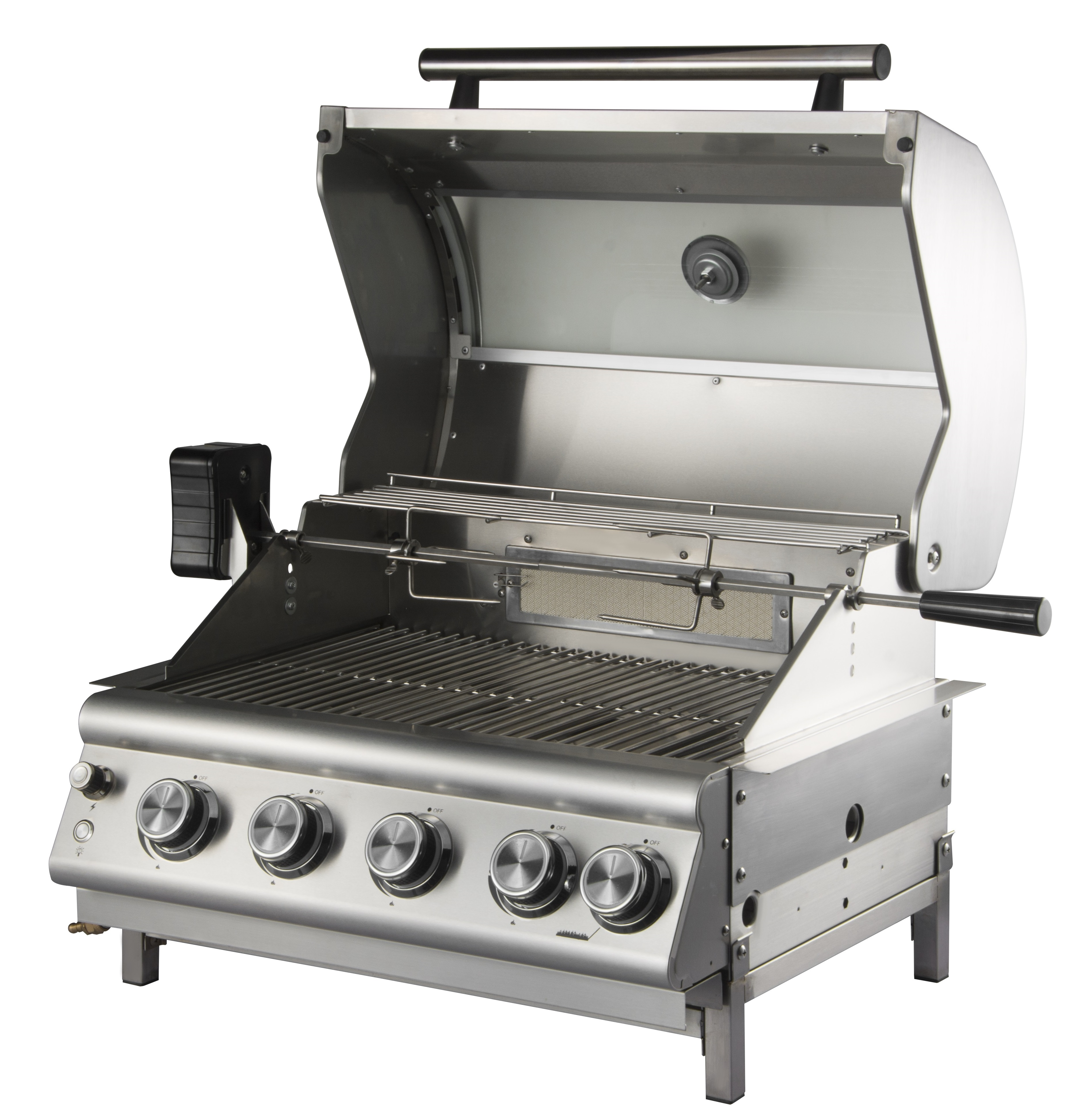 4 Burner Built-In Gas BBQ Grill