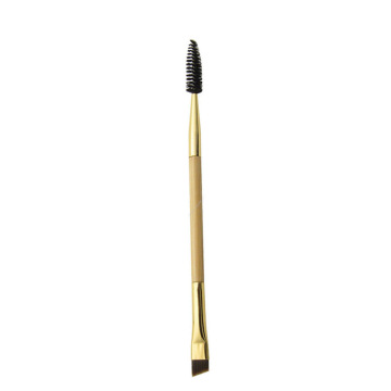 Doppelendiger Augenbrauen-Mascara-Make-up-Pinsel