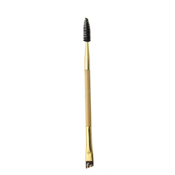 Pinceau de maquillage pour mascara à sourcils double