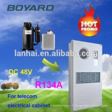 Climatiseur de voiture à 12 volts Climatiseur solaire Système de système Hybird Abri de télécommunication