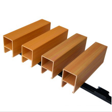 China manufacturer ceiling wpc panel indoor wooden suspended ceiling wpc ceiling decoration
