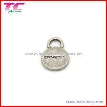 Metal Tag for Clothing