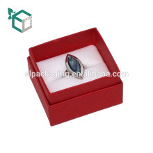 Gift Paper In Packing Luxury Red Rose Ring Box