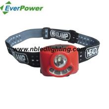 1 Watt LED + 4PCS White LED Headlamp / LED Headlight (HL-1007)