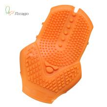 Massager Handheld prático e confortável das luvas da massagem do silicone
