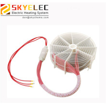 Elemento calefactor de bobina eléctrica de inmersión en agua de teflón 6kw