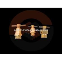Válvula de torneira de ar de latão e válvula de drenagem