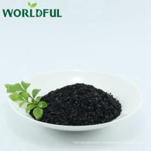 Worldful alta solubles en agua fertilizante orgánico sodio humate shing flake
