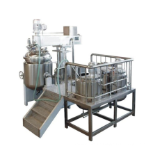 High shear Emulsion with homogenizer and mixer
