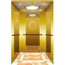 Ascenseur commercial de bâtiment avec la salle de machine moins