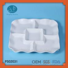 Plat, plats en céramique en Chine, plaques en céramique en vrac bon marché