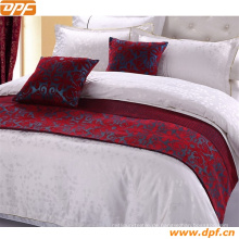 Hoteldekoration Polyester Bettläufer