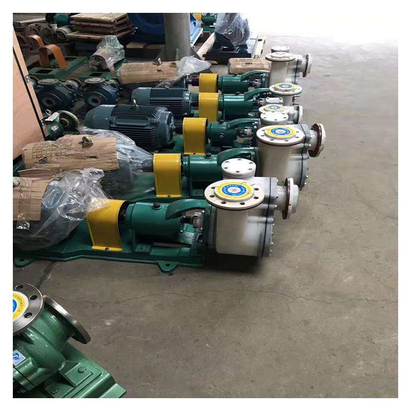 FZB fluoroplastic self-priming pump acid and alkali self-priming pump 5
