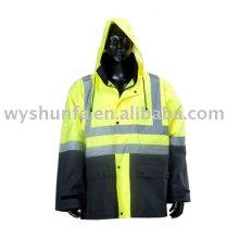 Предупреждающий пиджак с высокой видимостью