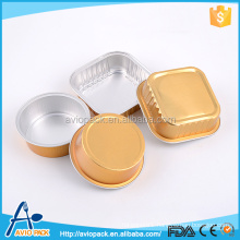 Hot selling eco friendly aluminum hot food disposable container for airplane