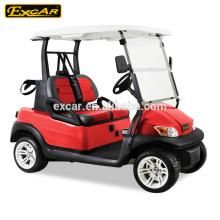 Carrinhos de golfe chineses elétricos de 2 seater, carrinho de golfe barato para venda, carro de buggy de golfe elétrico