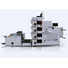Máquina de impressão flexográfica para pacote de hambúrguer / saco de papel