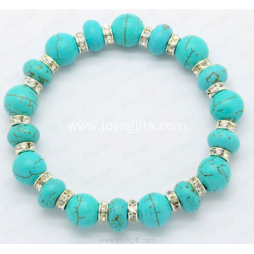 Gemstone Bangle Ethnic Jewelry Fashion Turquoise Bracelet