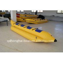 fábrica de barco inflável duplo banana barco CE DSB3m - 7m