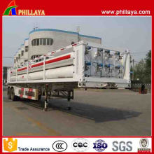 Fuwa Double Axles 8 Tubes 17.68m3 CNG Trailer