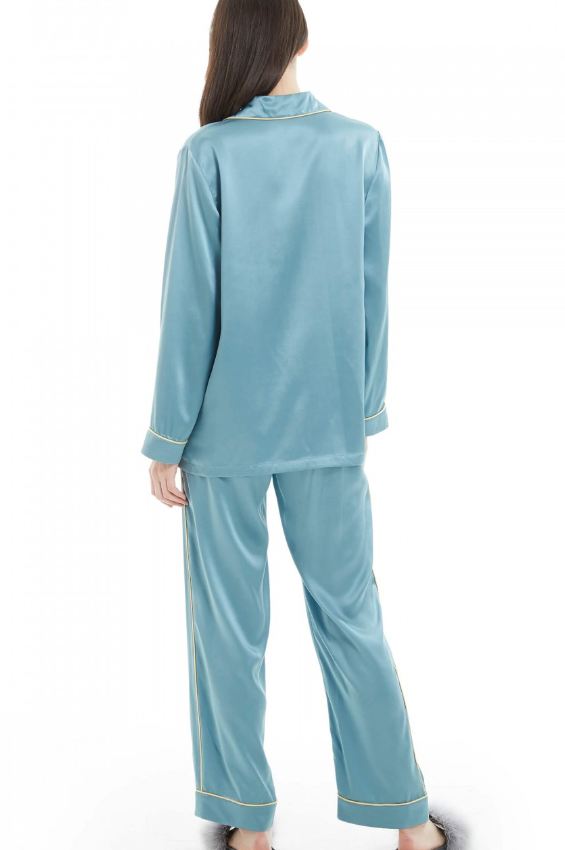 Blue Women Nightgown