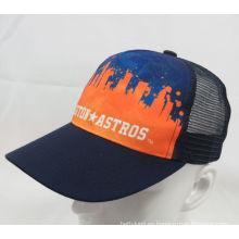 Gorra de béisbol promocional de malla tejido (WB-080086)