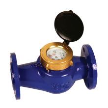 """Medidor de agua de hierro fundido Multi Jet (2""""), tipo del reborde"""