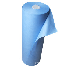 Factory High Quality 100 Polyester Raw Material NonWoven Fabric 100% PP Spunbonded Non Woven Fabric Rolls