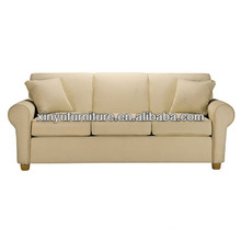 Three seater arm living room sofa