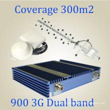 GSM 3G 900 / 2100MHz doble banda de señal de repetición St-Gw27A