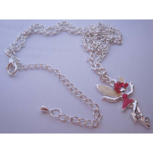 Silver Fairy Necklace Pendant (HK-NLF0815)
