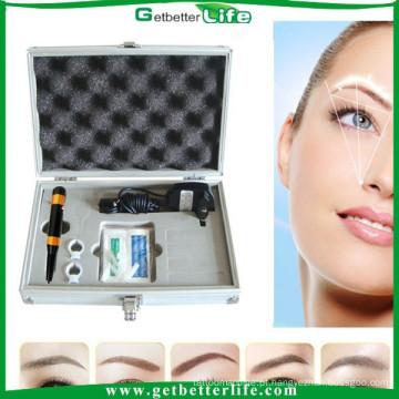 2015 getbetterlife grátis frete nos kit de máquina de maquiagem definitiva Pro tatuagem sobrancelha kit de kit/sobrancelha de bordado