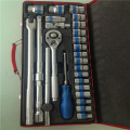 72 tand Dr.Socket Set med Ratchet Handle