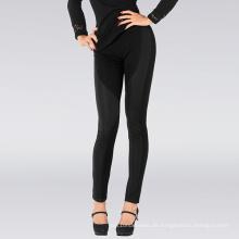 Sexy Dame Black Stripe Trimed Leggings