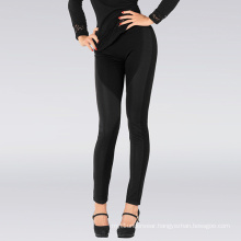 Sexy Lady Black Stripe Trimed Leggings