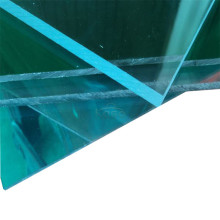 Panneau en plastique épais solide en polycarbonate transparent