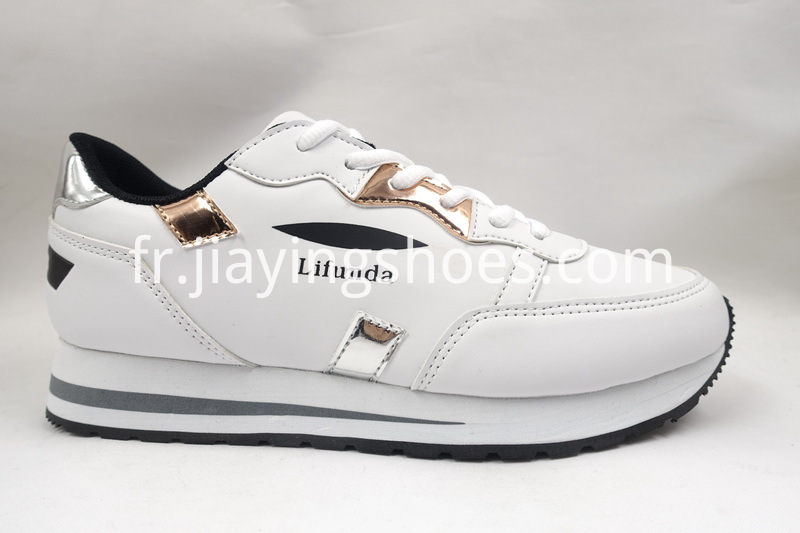 PU White Shoes