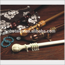 china professional factory single or double curtain rods