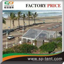 Flame-redardancy 10X10M Tentes modulaires PVC PVC transparent à vendre