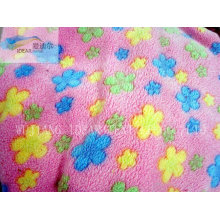 PV Plush Fabric For Home Textile 035