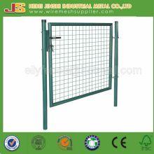100X100cm Galvanized + Powder Coated Wire Mesh Garden Gate