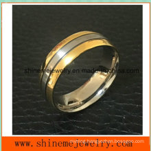Shineme Jewelry High Quality Jewelry Titanium Gold Plating Ring (TR1913)