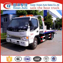 Manual Diesel Engine 3 ton JAC Camión Wrecker