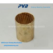 Wrapped Bronze Bearings, angeboten mit Schmiertaschen, GGT090 Bearing